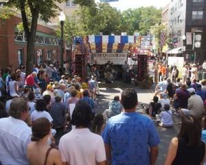 Allen Street Stage 2010