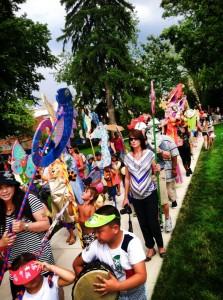 2013 Arts Festival Parade