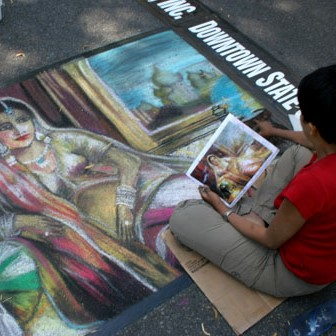Italian Street Painting