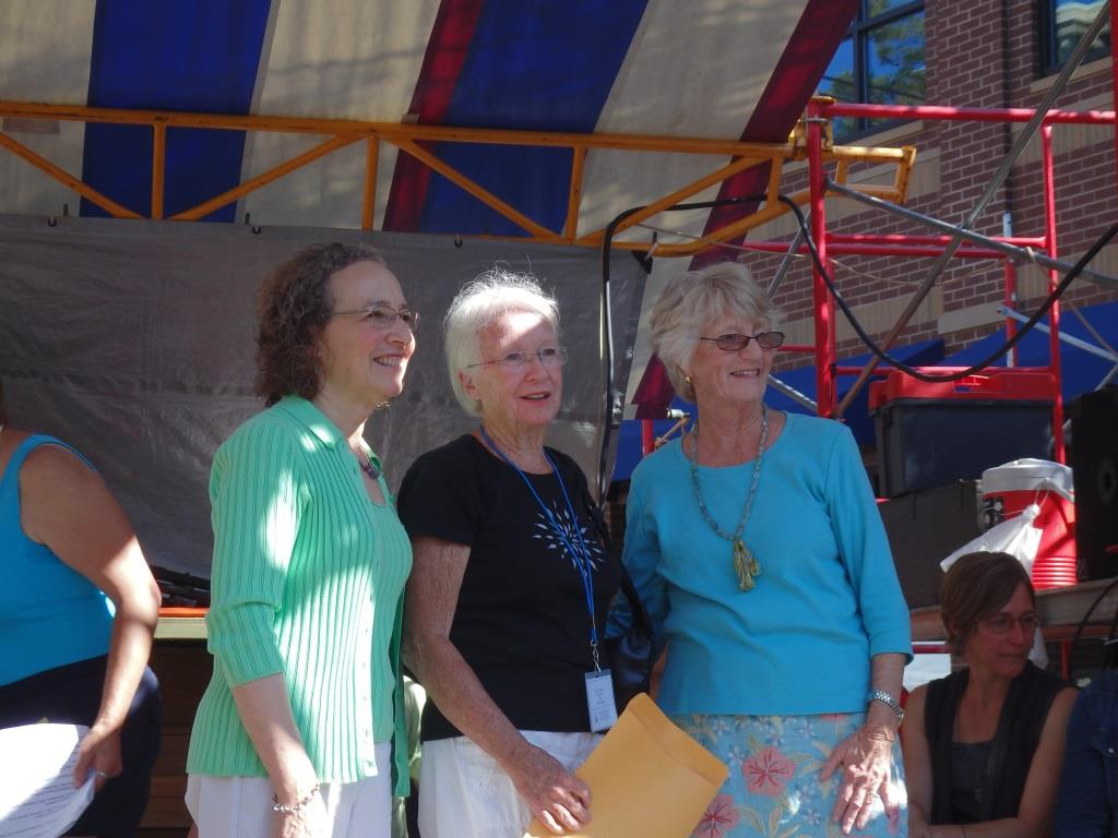 Linda Gall, Patricia Wilder, and Jeanne Gleason