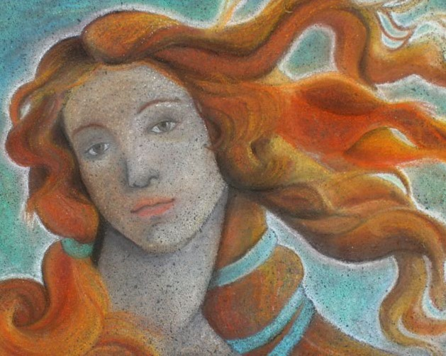 Boticelli Venus: Italian Street Painting Festival