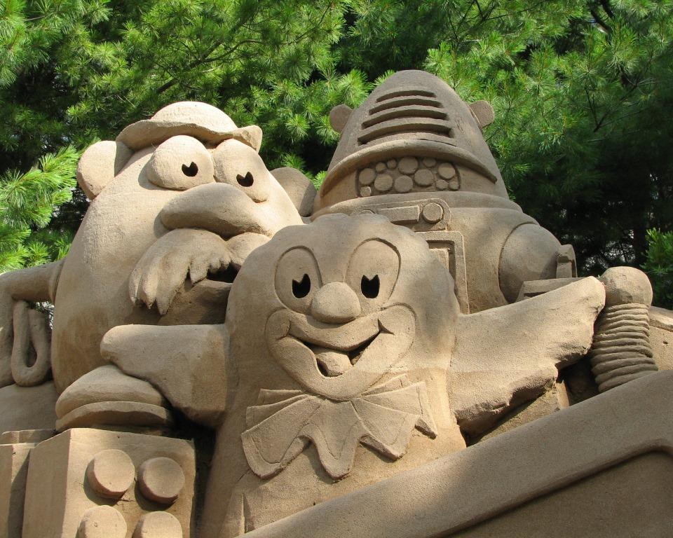 Sand Sculpture 2007