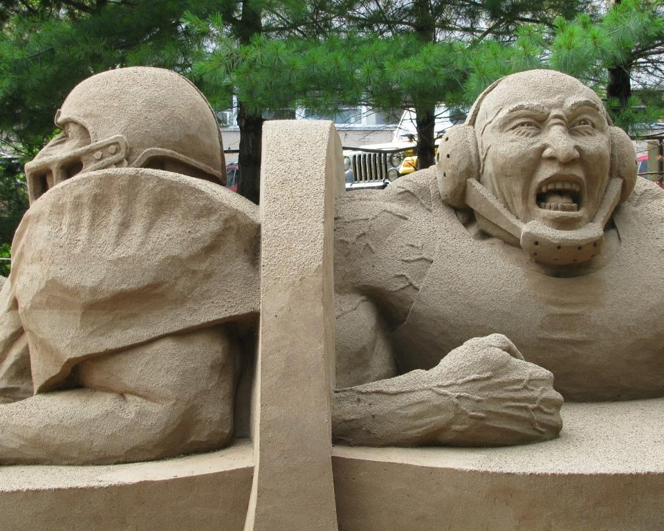 Sand Sculpture 2009