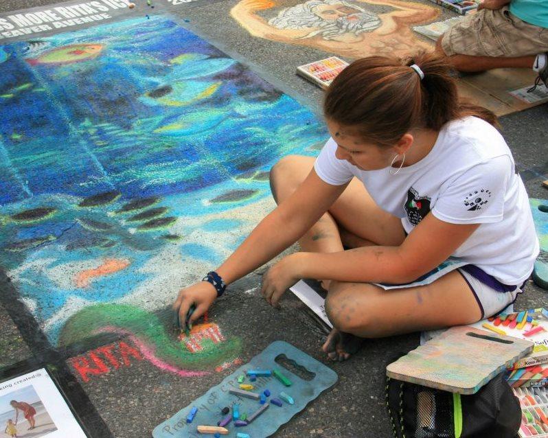 Street Painting Artist