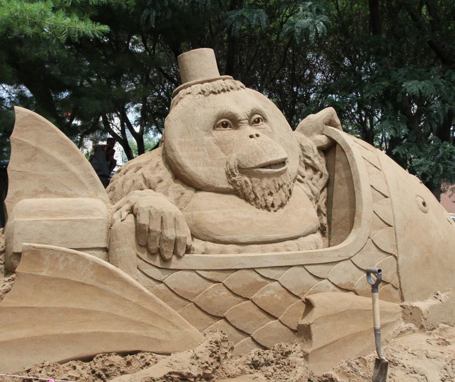 Sand Sculpture 2015