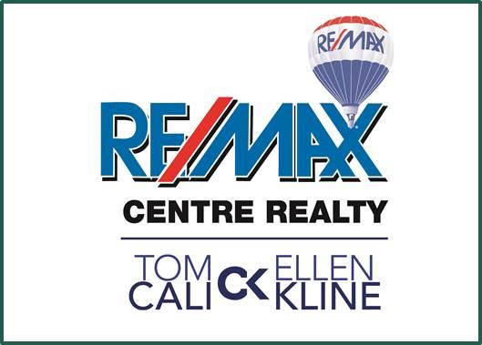 Tom Cali, Ellen Kline, REMAX logo