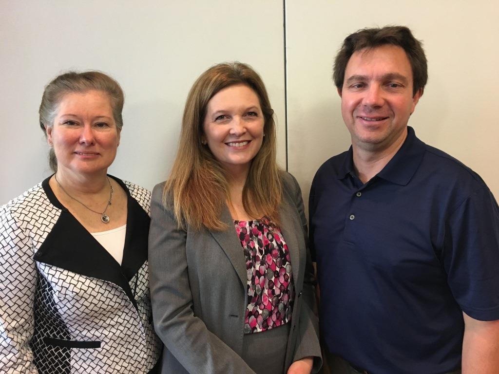 Renata Engel, Jean Galliano, and Steve Sampsell
