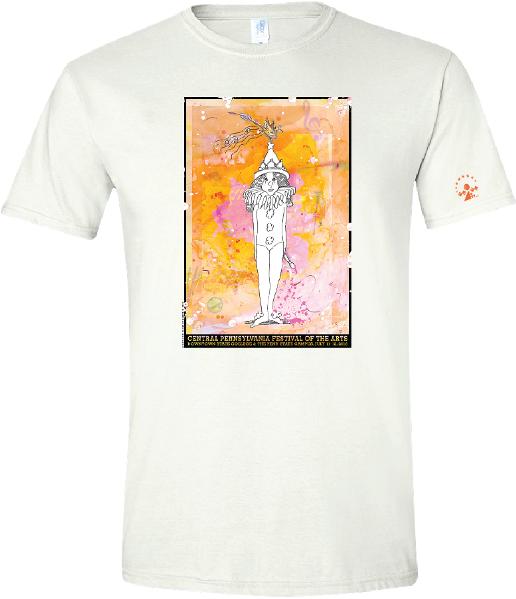2018 Arts Festival poster tshirt