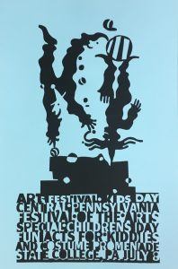 CPFA Childrens Day Poster Blue