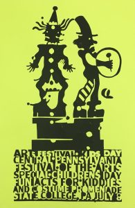 CPFA Childrens Day Poster Lime Green