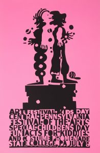 CPFA Childrens Day Poster Pink