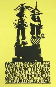 CPFA Childrens Day Poster Yellow