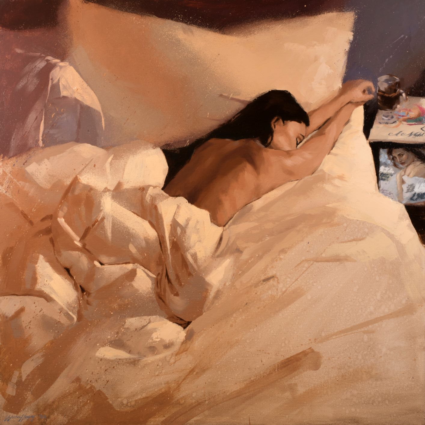 Michael Leaver, Lazing On A Sunday Afternoon