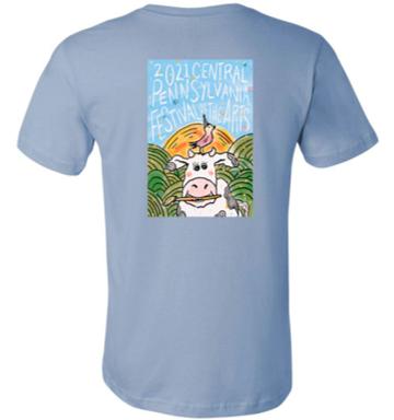 Unisex 2021 Festival Cow Tshirt