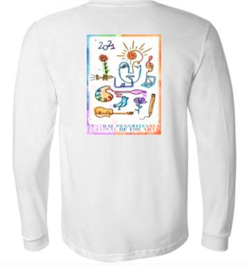 Unisex 2021 Festival Poster Long-sleeve Tshirt