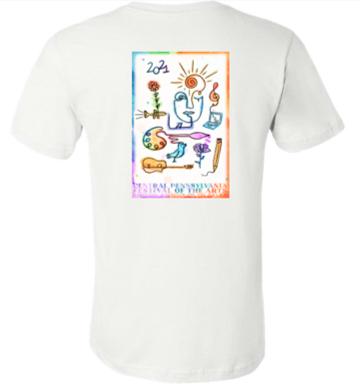Unisex 2021 Festival Poster Tshirt