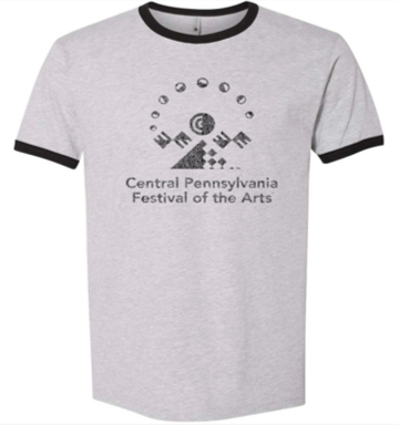 Unisex CPFA Logo Tshirt Gray