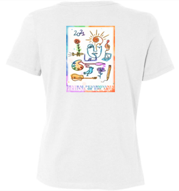 Womens 2021 Festival Poster Tshirt